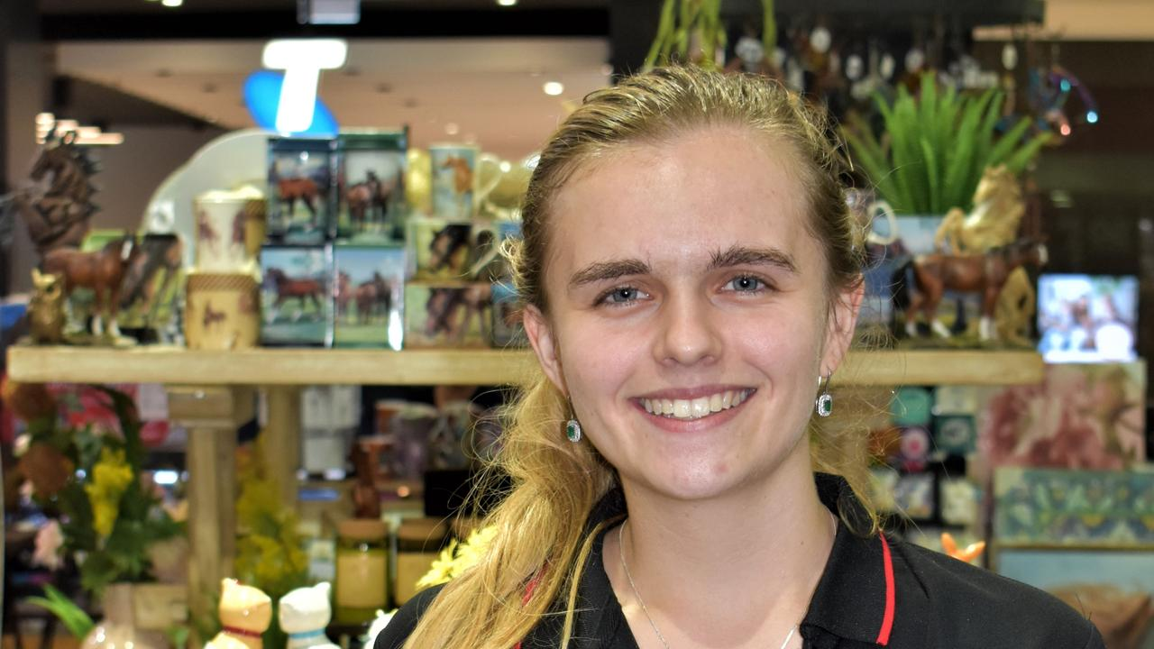 Kelly Goatham at Nextra Gympie has been crowned the region's best worker under 25. Picture: Kristen Camp.