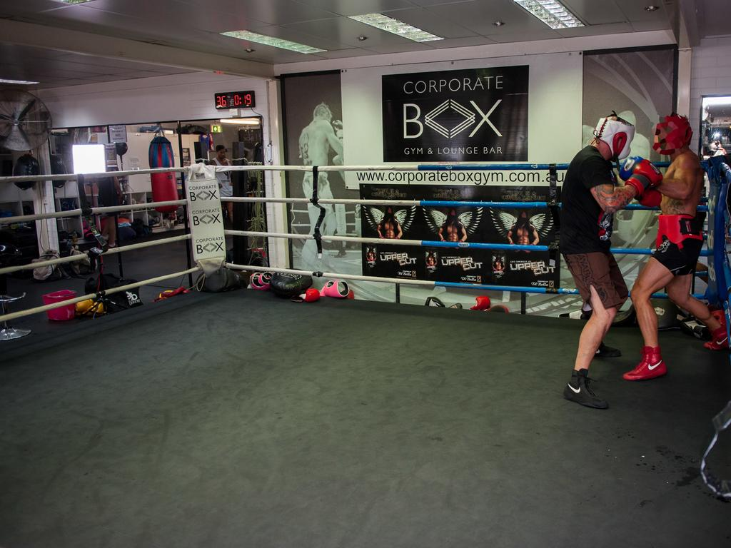 The doctor attended the Corporate Box Gym at Greenslopes between 5.45pm and 7pm. (AAP Image/John Pryke)