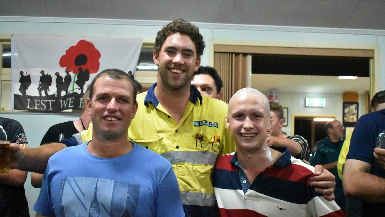 Roma boys shaved their mullets and raised over $10,000 for the Leukaemia Foundation.