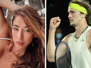 Model's big reveal amid toxic tennis spat