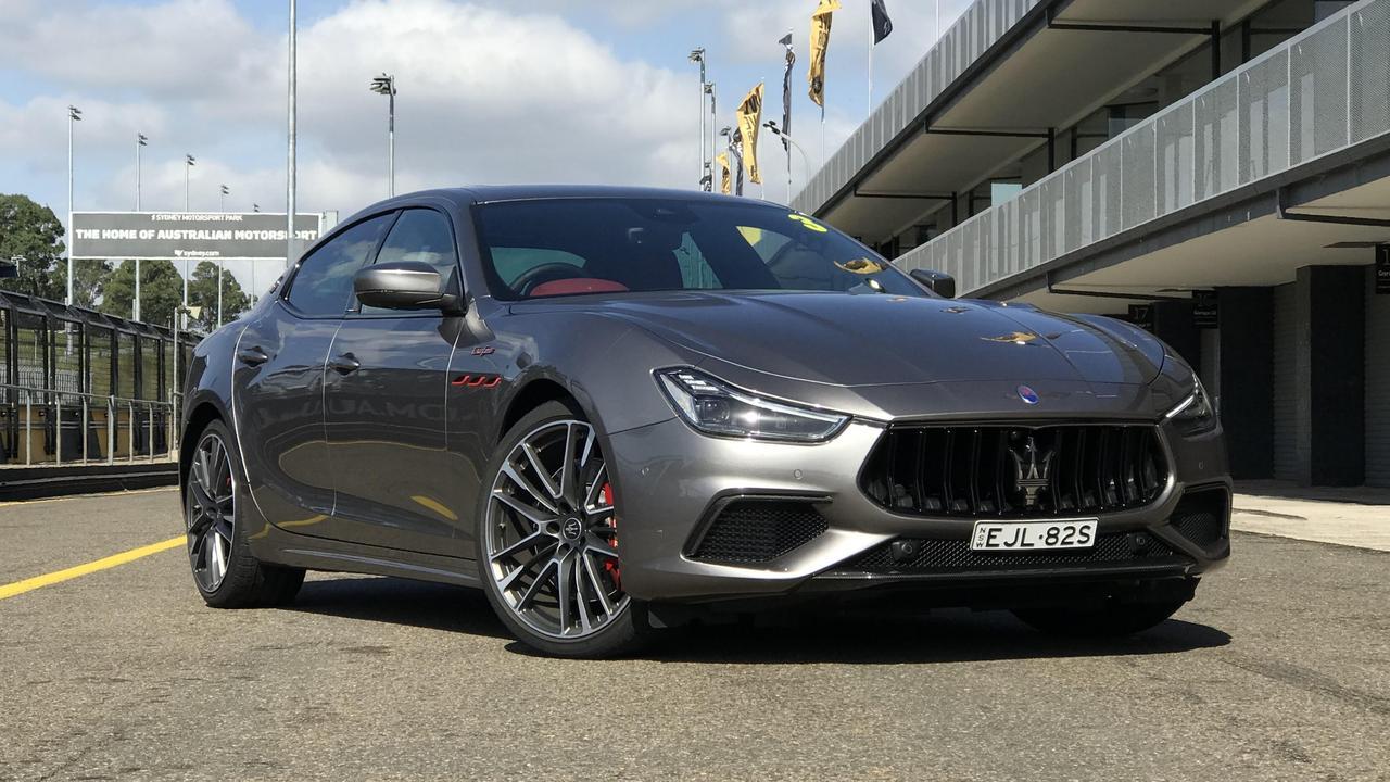 Maserati's new Ghibli Trofeo could be the last new V8 sedan launched in Australia.