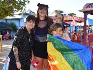 Rainbow flags fly as Mardi Gras party kicks off