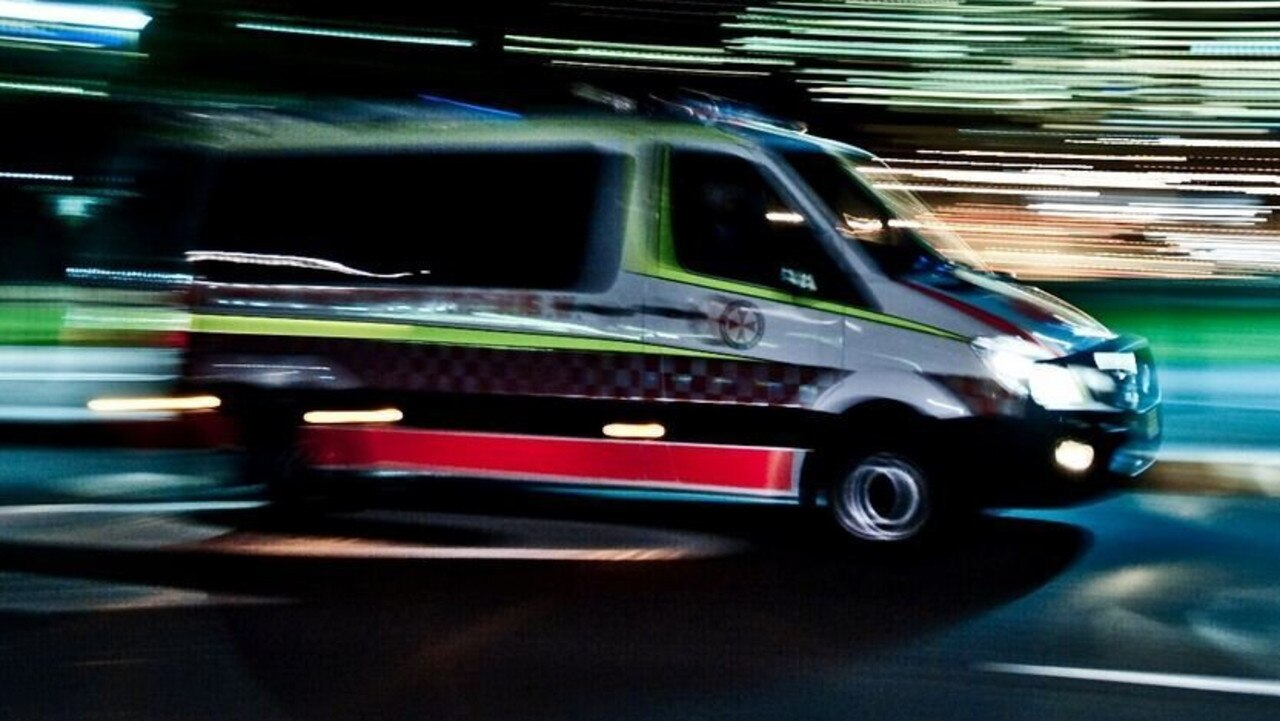 A driver was lucky to escape unhurt from a crash at Goomeri late last night.