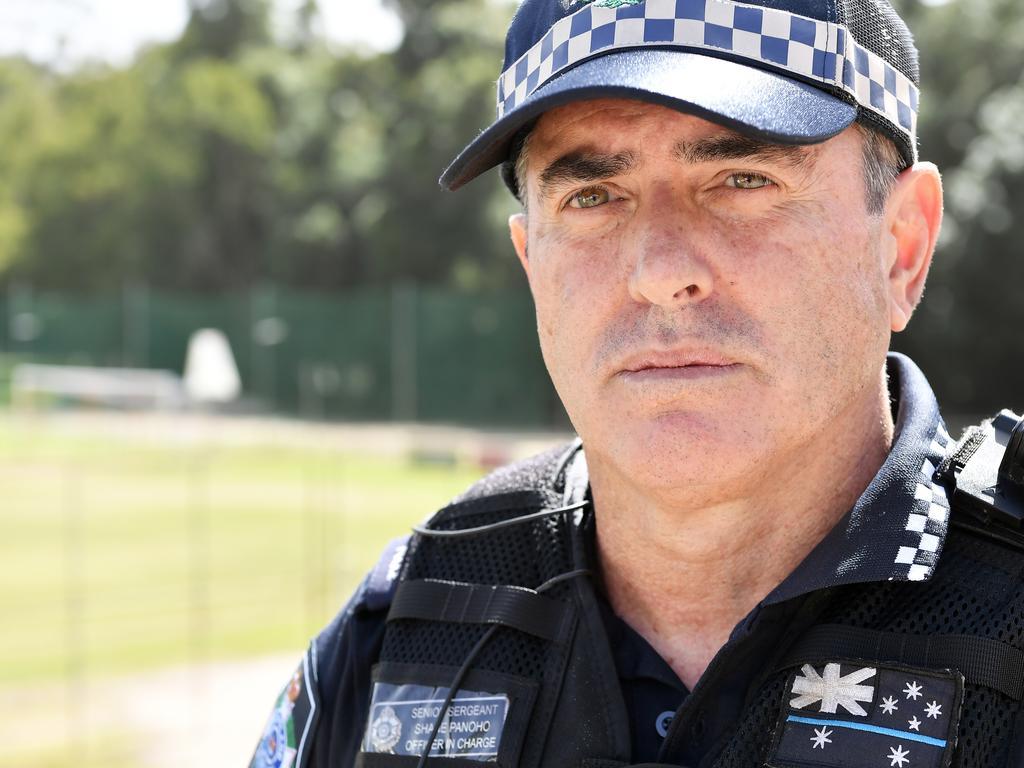 Sunshine Coast district acting Inspector Shane Panoho. Photo Patrick Woods