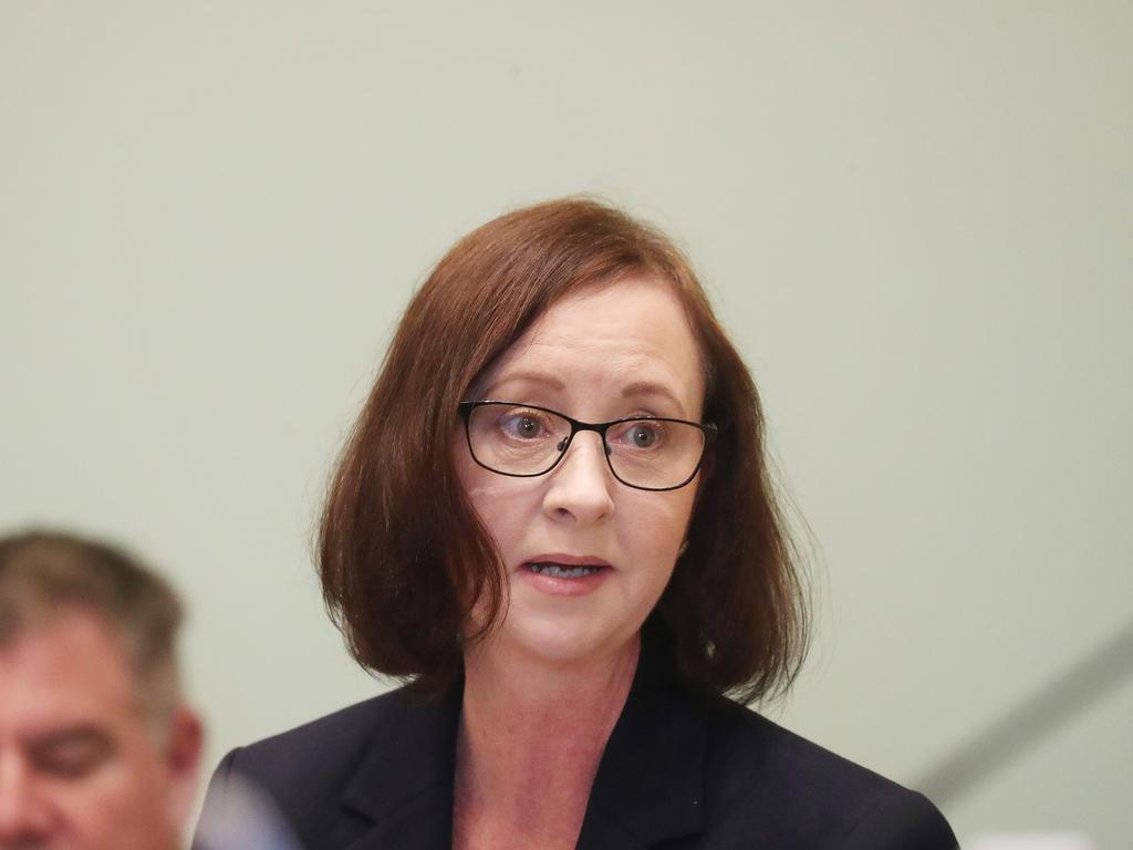 Queensland Health Minister Yvette D' Ath at Parliament. Pic Annette Dew