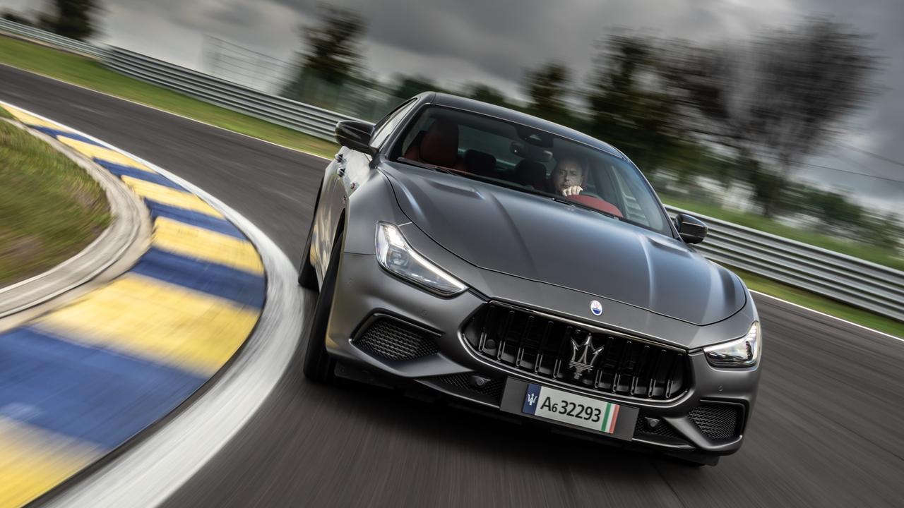Maserati Ghibli Trofeo.