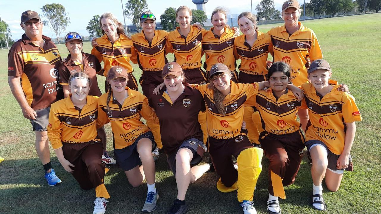 The Ipswich Hornets women's second grade team that made the Jodie Fields Shield grand final. Picture: David Lems