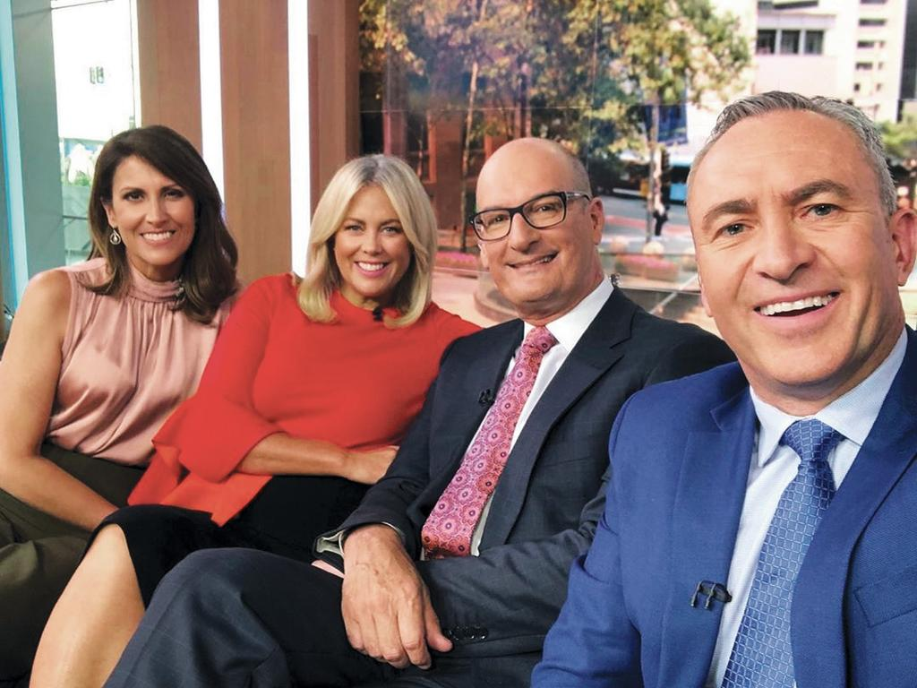 Nat is taking over from Sam at the helm with Kochie. Picture: Natalie Barr/Supplied