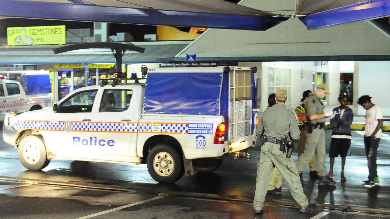 Police crack down on anti-social behaviour in Alice Springs.