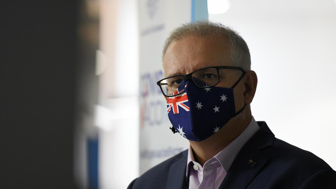 Perhaps it might have been wiser for Scomo to withhold his handout to the airlines, writes Peter Owen. Picture: Bianca De Marchi