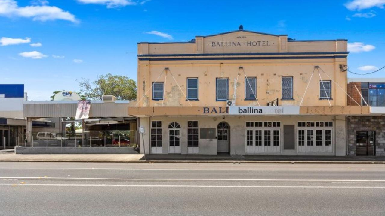 The Ballina Hotel in River Street was listed for sale in August 2020, but it hasn't been sold and is no longer listed.