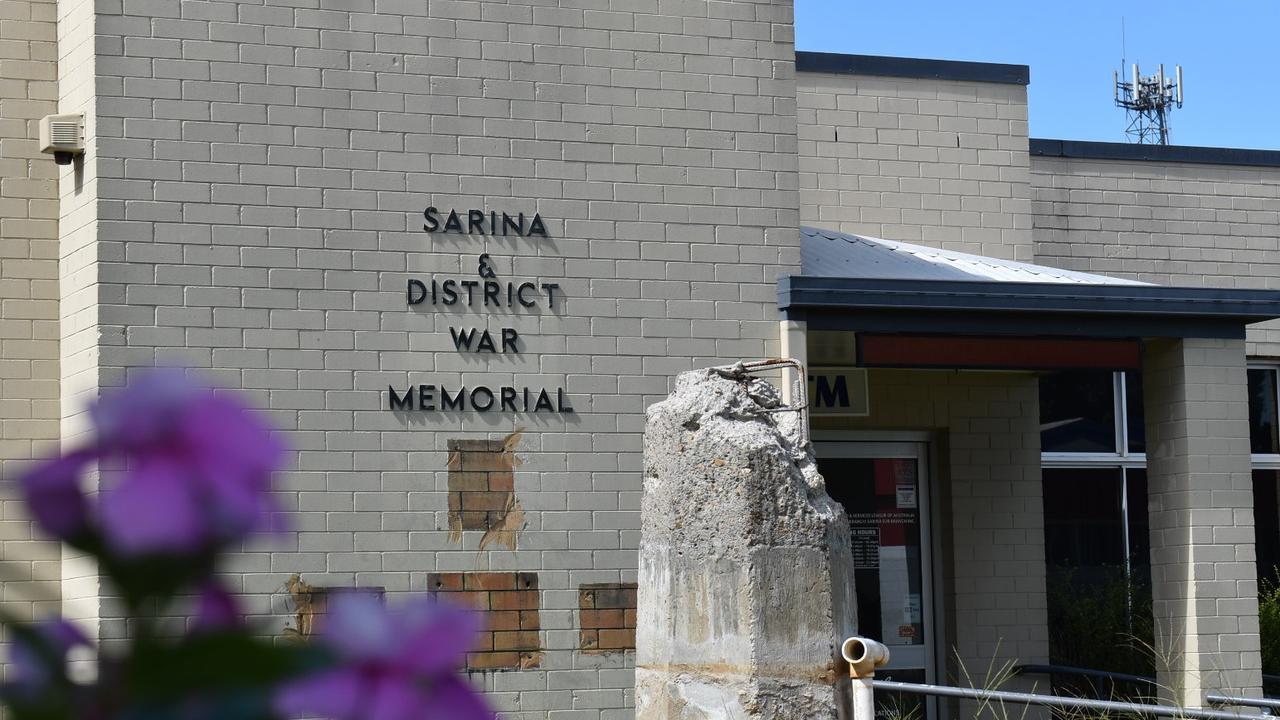 The former Sarina RSL Club on Central St, Sarina. Picture: Tara Miko