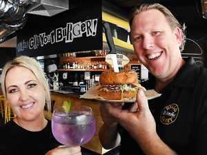 Half priced burgers at Hello Harry for frontliners