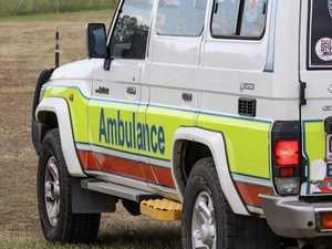 Woman hospitalised after motorbike highway crash