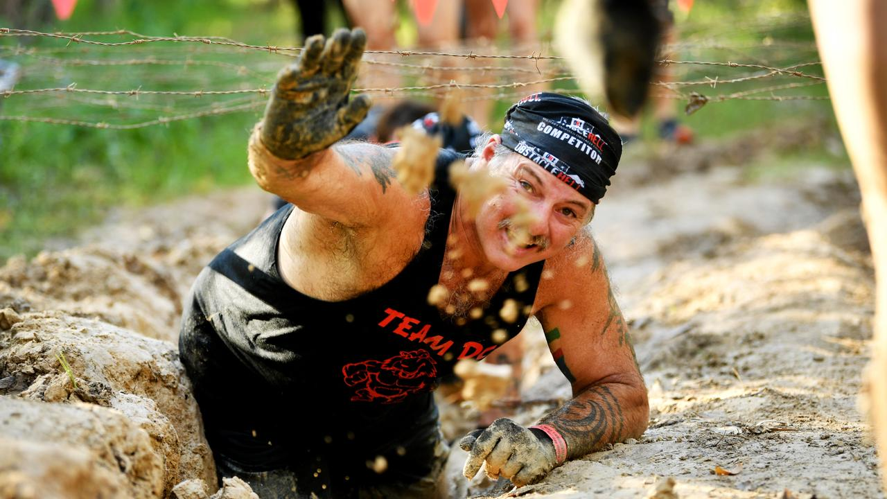 Townsville's first Obstacle Hell at the Tarmaroo Scout Camp at Bluewater. Danny Sincotta . Picture: Alix Sweeney