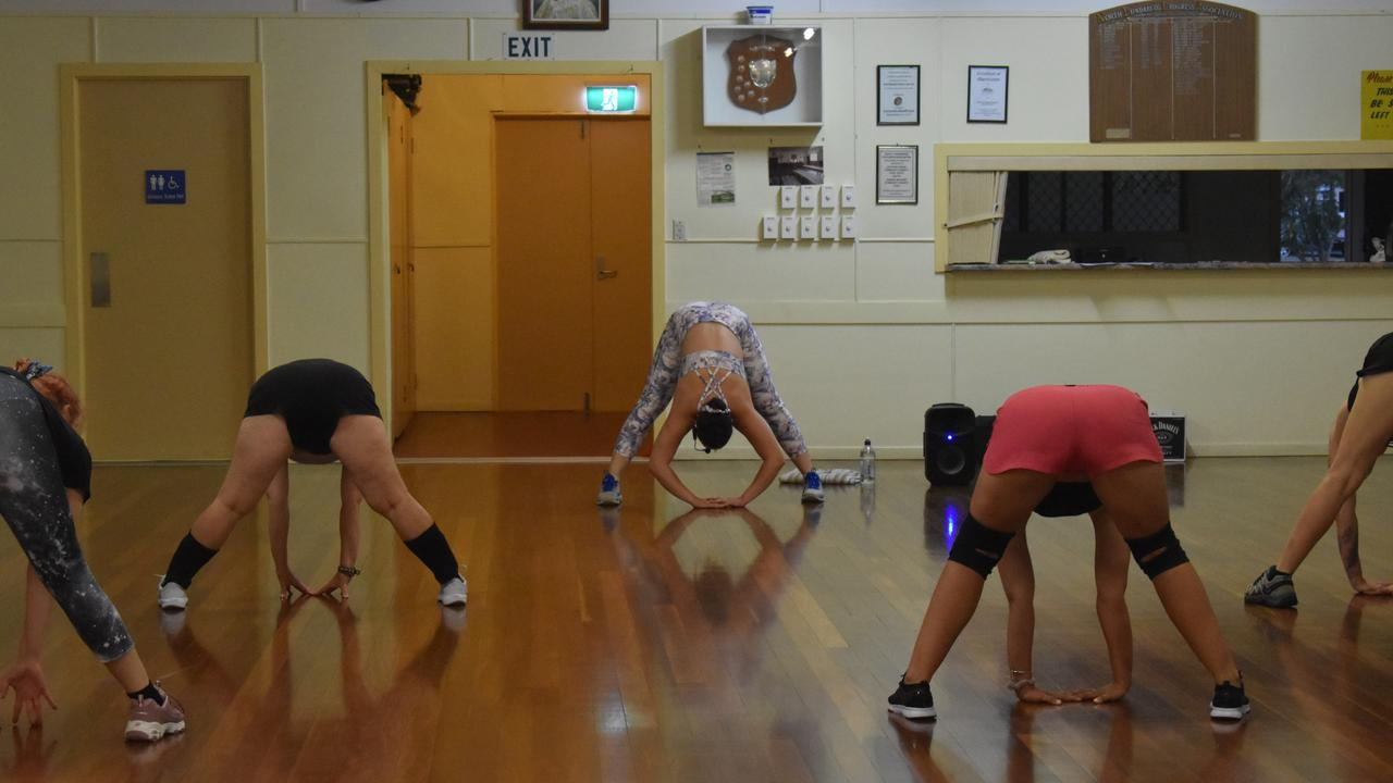 Ariah Goodluck has started twerking classes in Bundaberg that are proving popular.