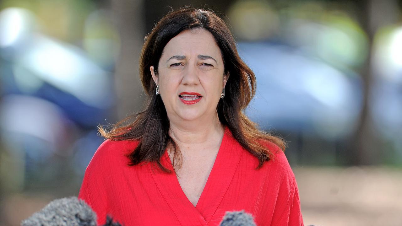 Premier of Queensland, Annastacia Palaszczuk. Picture, John Gass