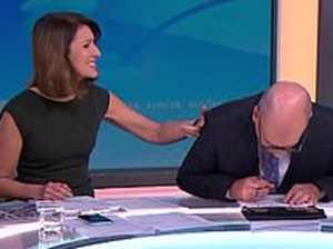 Sunrise host takes on Kyle after 'cold' jab