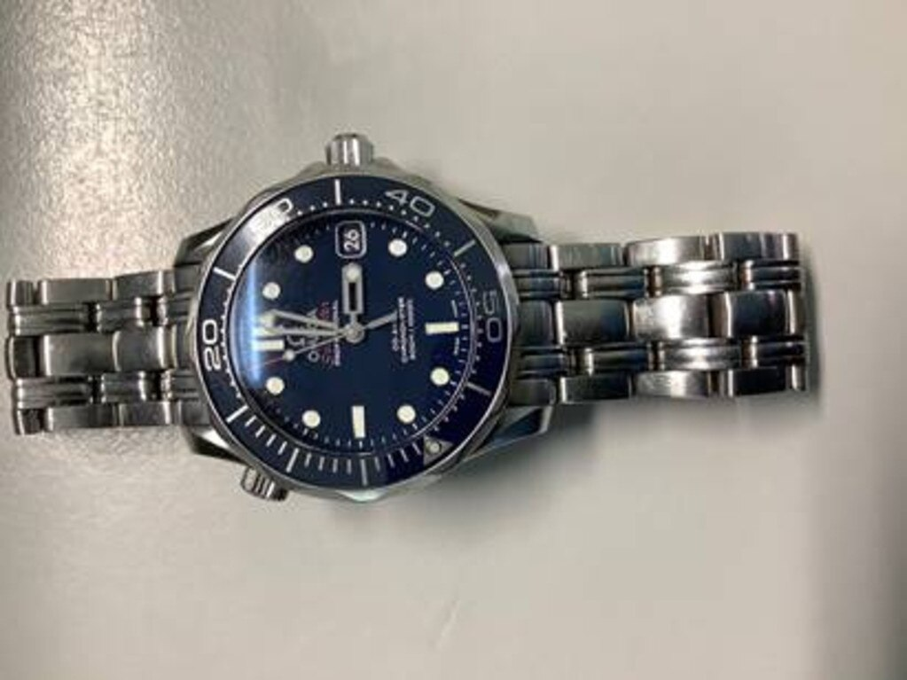 Omega Seamaster watch missing from Mitchell. Pic: Contributed
