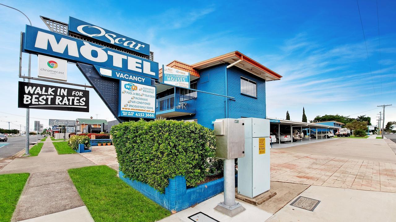 Scott Mackey also owns the Oscar Motel on Bourbong St.