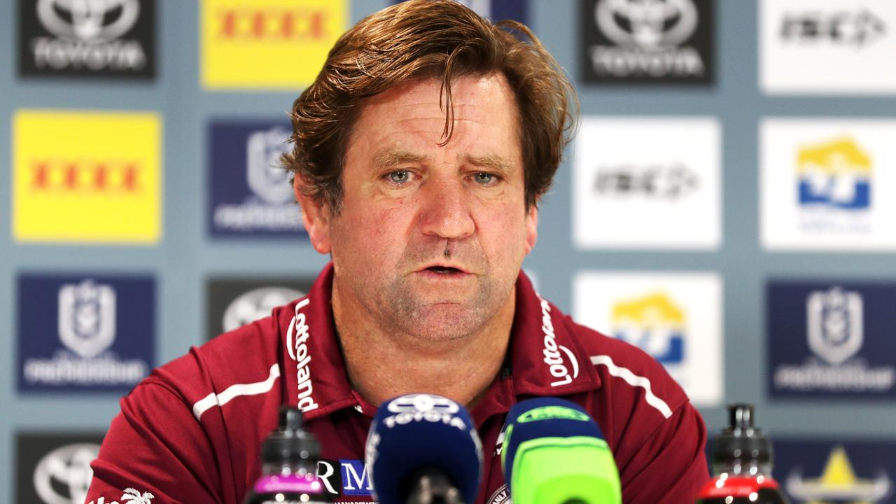 Manly set to re-sign coach to deal that includes performance-based clauses