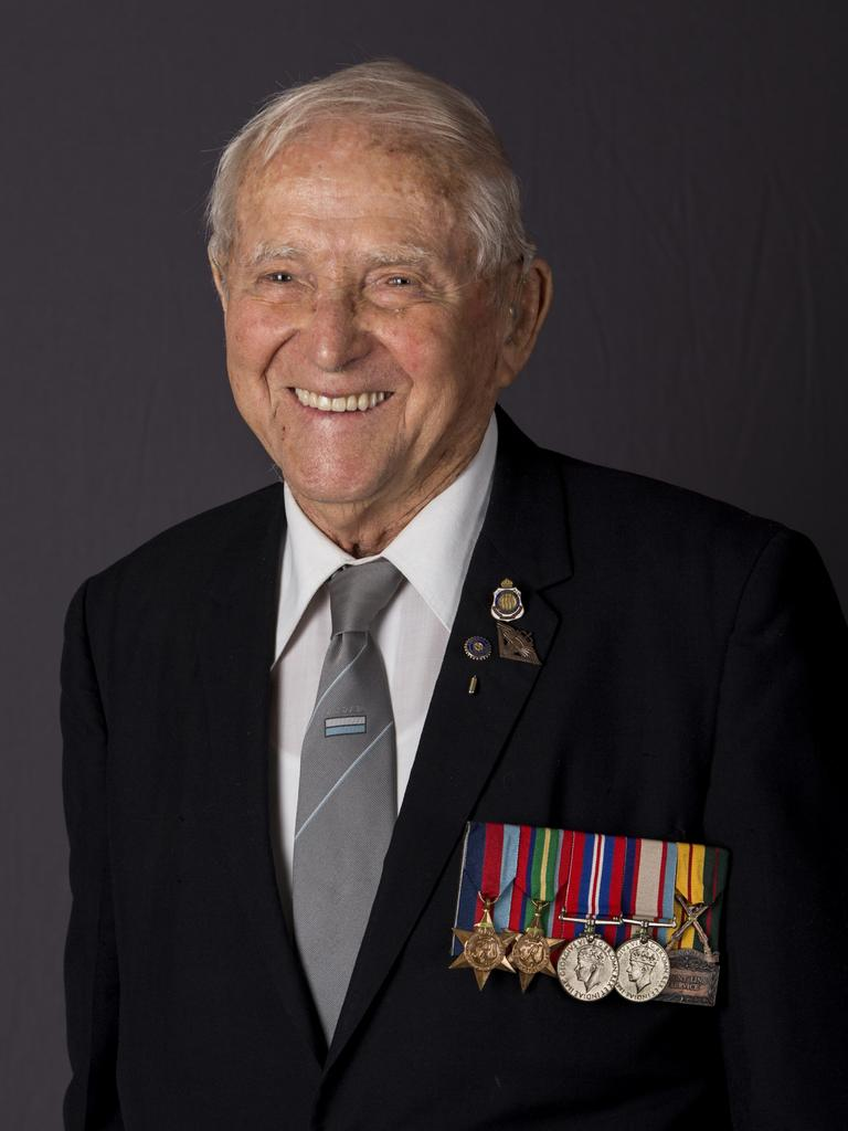 Corporal Leonard Frank Lister who served during World War II. Picture: AIPP
