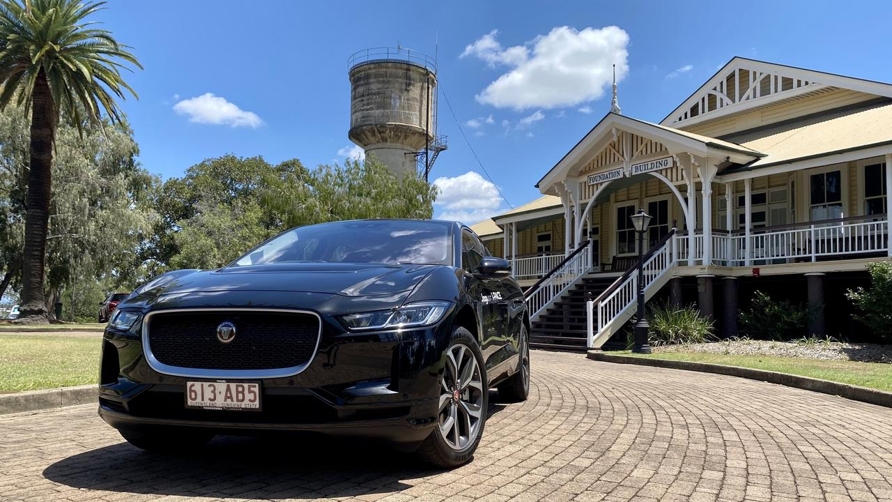 Driving the Jaguar I-Pace for the first time was quite literally an electrifying feeling. Photo: Hugh Suffell.