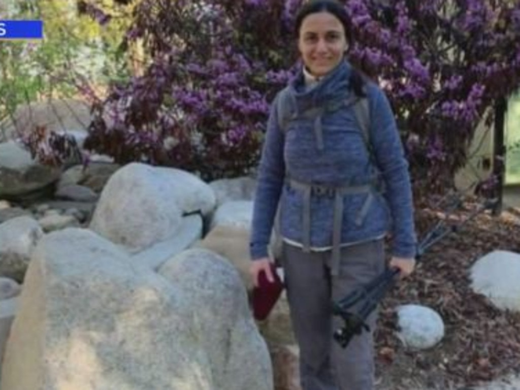 Ms Avakian was last seen when she set out for a one-day hiking expedition