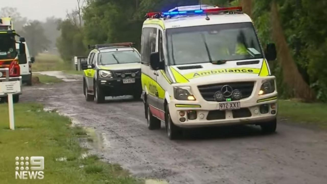 Emergency services were called to the Lifestyle Supports property at Diddillibah. Photo: Nine News