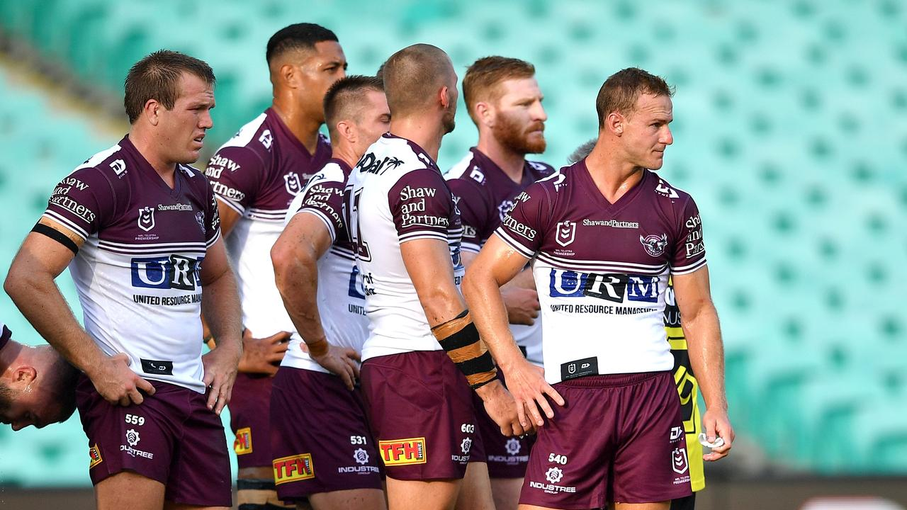 The Sea Eagles will be looking to bounce back against the Rabbitohs.