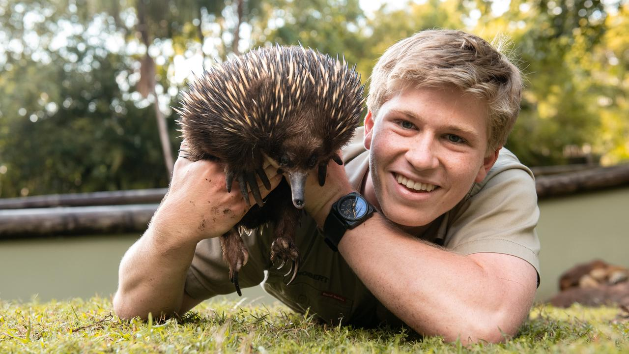 Robert Irwin at his home at Australia Zoo.