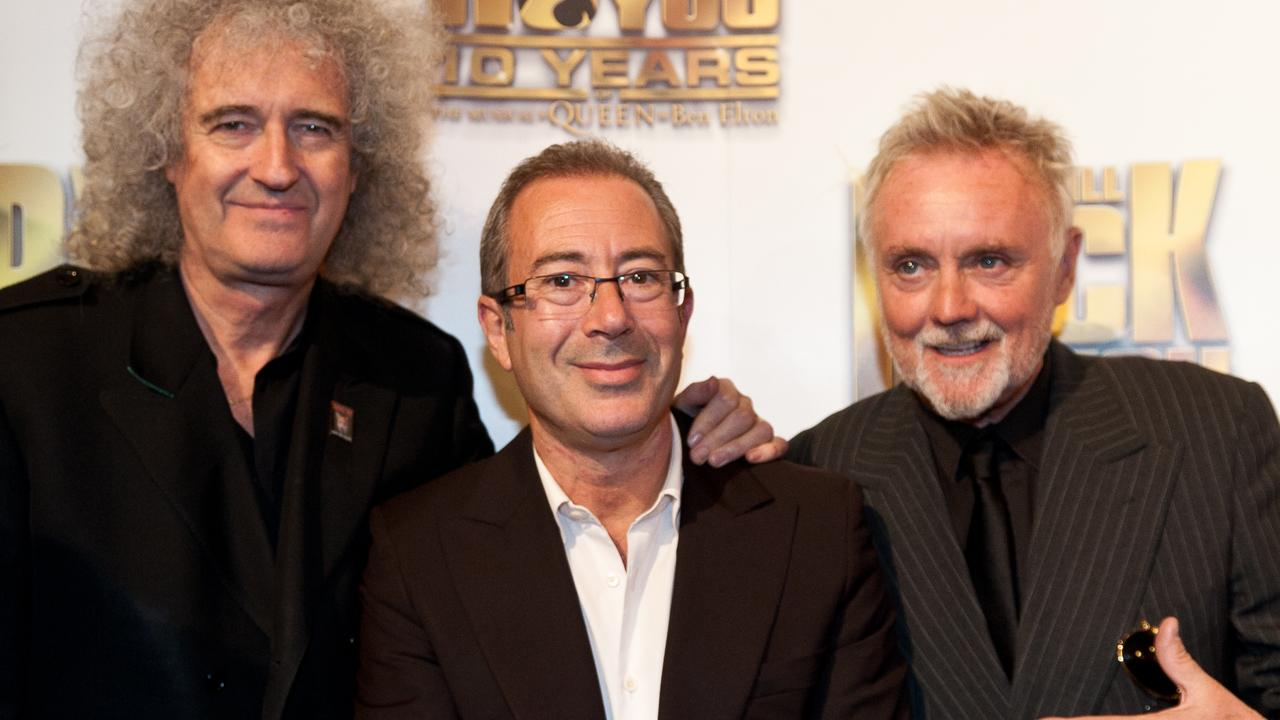 Ben Elton wrote the musical We Will Rock You with Brian May and Roger Taylor from Queen. Picture: Adam Jacobs/Getty Images