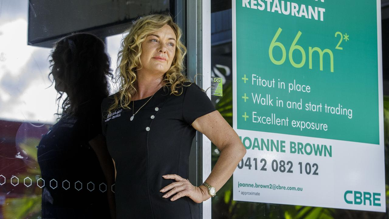 Cairns beauty salon owner Monique Naden says she has seen many businesses shut down.