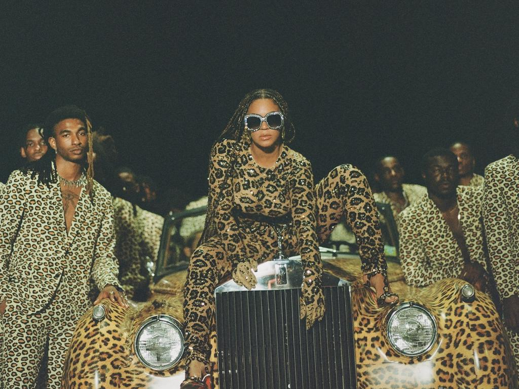Queen Bey in a scene from the visual album, Black is King. Picture: Supplied