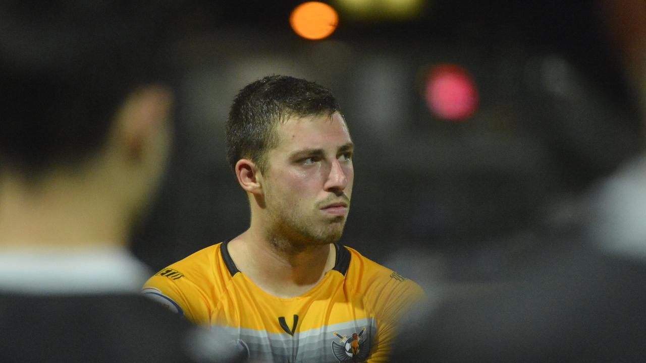Magpies Crusaders midfielder Jordy Vleugels.