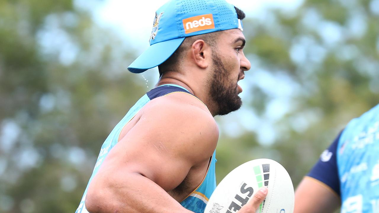 Titans recruit David Fifita discovers heat that comes with entry to millionaire's club