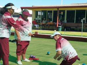 Close championship matches at Sarina Bowls Club