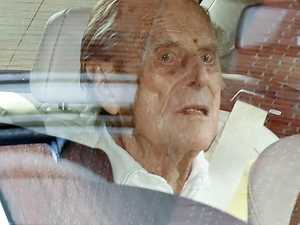 Prince Philip finally leaves hospital