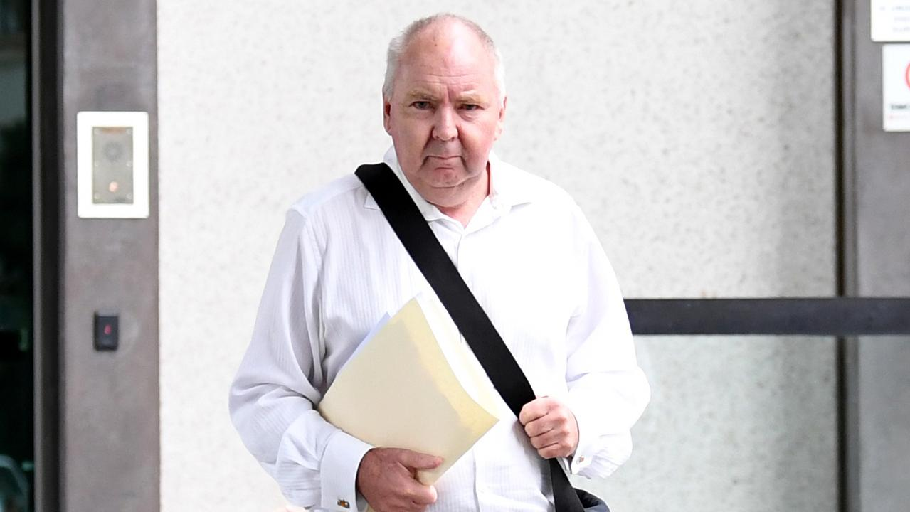 A former partner in law firm Lawler Magill has pleaded guilty to breaching a community service order.