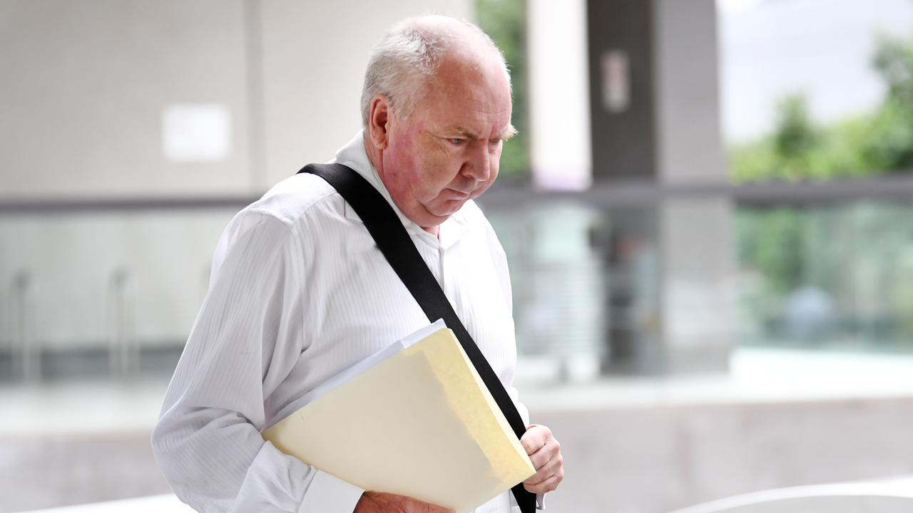 Neil Lawler was told to complete the 66 hours remaining on the original community service order. He was also fined $300 for contravening the community service order. Picture: NCA NewsWire / Dan Peled