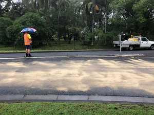 Oil spills wreak traffic havoc on major roads