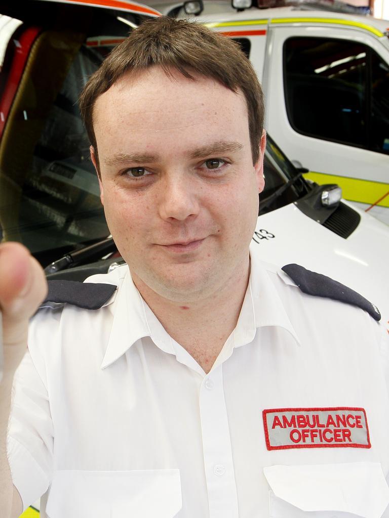 Paramedic Damian Crump.