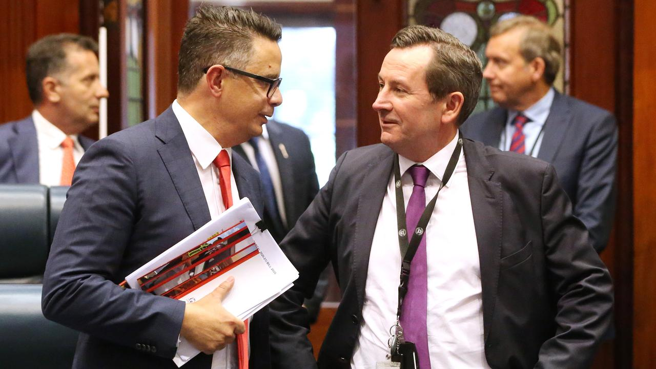 The departure of Ben Wyatt is a huge loss to the Western Australia parliament. Picture: Jackson Flindell/The West Australian