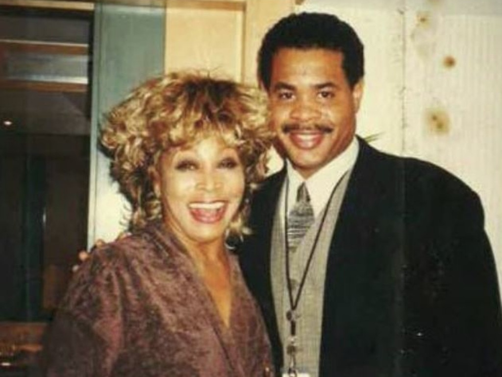 Tina Turner and son Craig Turner.