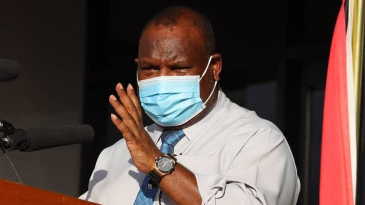 PNG's prime minister James Marape. The Pacific Island nation is struggling with a COVID-19 outbreak. Picture: PNG PM Media