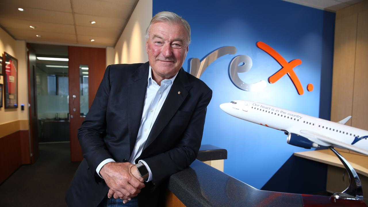 Regional Express (Rex) deputy chairman John Sharp says the recent aviation package should be called 'QantasKeeper'. Picture: Britta Campion / The Australian