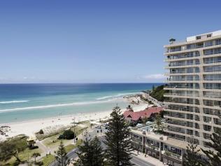 What the Kirra Beach Hotel development's exterior will look like,