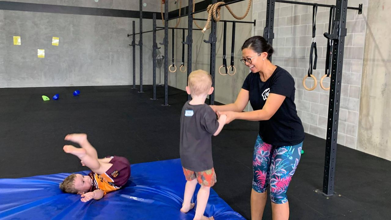Crossfit Kindy is available to kids aged two to five.