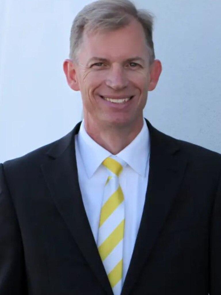 Ray White Caloundra principal Andrew Garland.