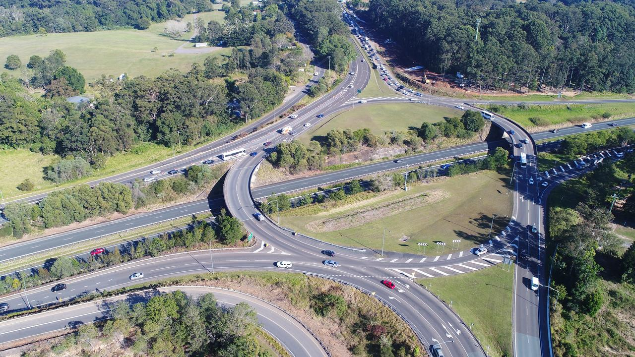 The Maroochydore Road and Nambour Connection Road roundabout will have signals installed as a part of an upgrade. Picture: Patrick Woods.